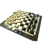 Шашки и шахматы ручной работы арт.165A