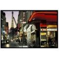 Часы настенные Time2go 1036 Кафе Парижа