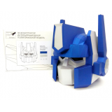 3D конструктор из дизайнерского картона Маска Оптимус Прайм