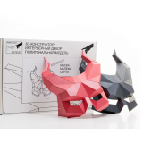 3D конструктор из дизайнерского картона Маски Малефисента