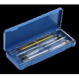 Набор спиртометров бытовых 0-100 и термометр